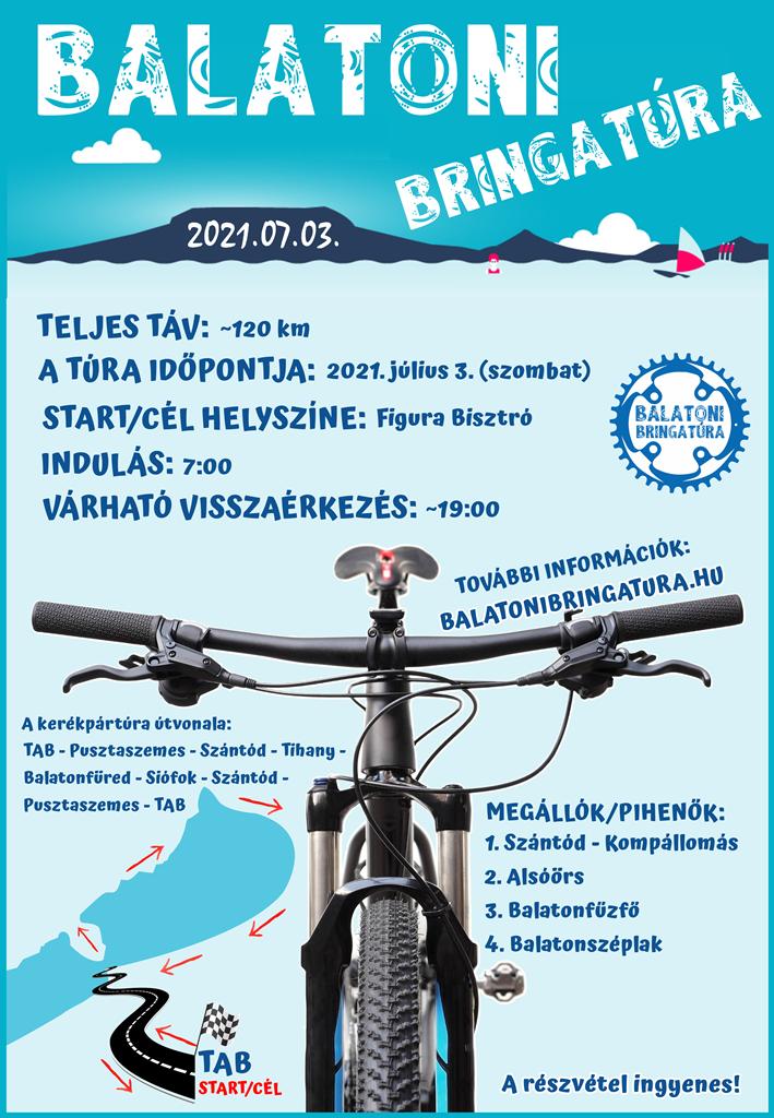 Balatoni Bringatúra plakát